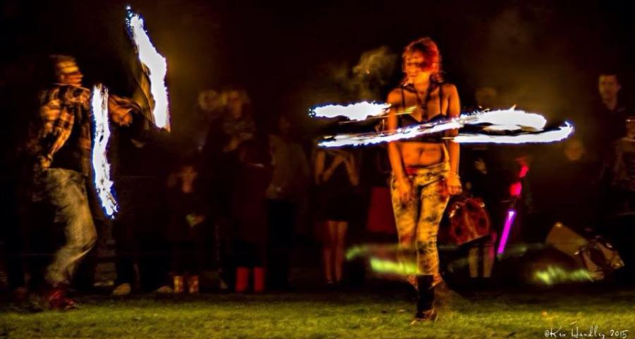 11:11 Entertainments Fire Performers
